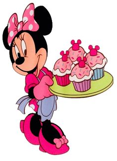 Minnie Mouse Birthday Clipart.