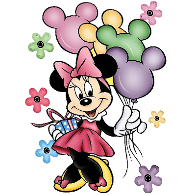 Minnie Mouse Clipart Birthday.