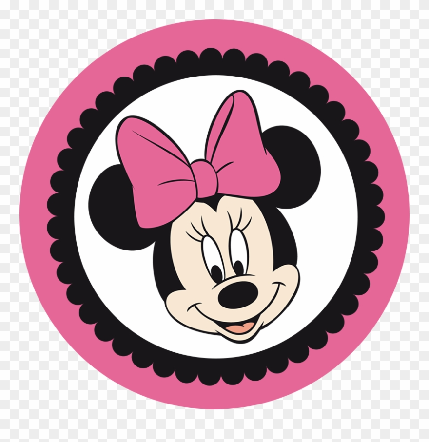 Minnie In Pink And Black.
