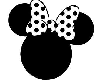 Minnie Head Clipart.