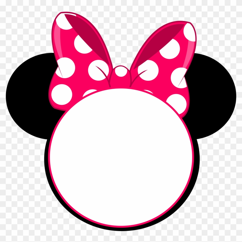 Minnie Mouse Head Invitation, HD Png Download.