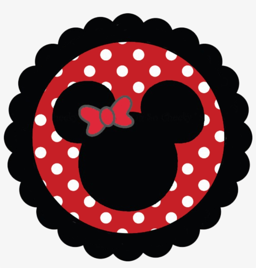 Mickey Mouse Face Clip Art.