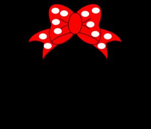Minnie Mouse Clip Art at Clker.com.