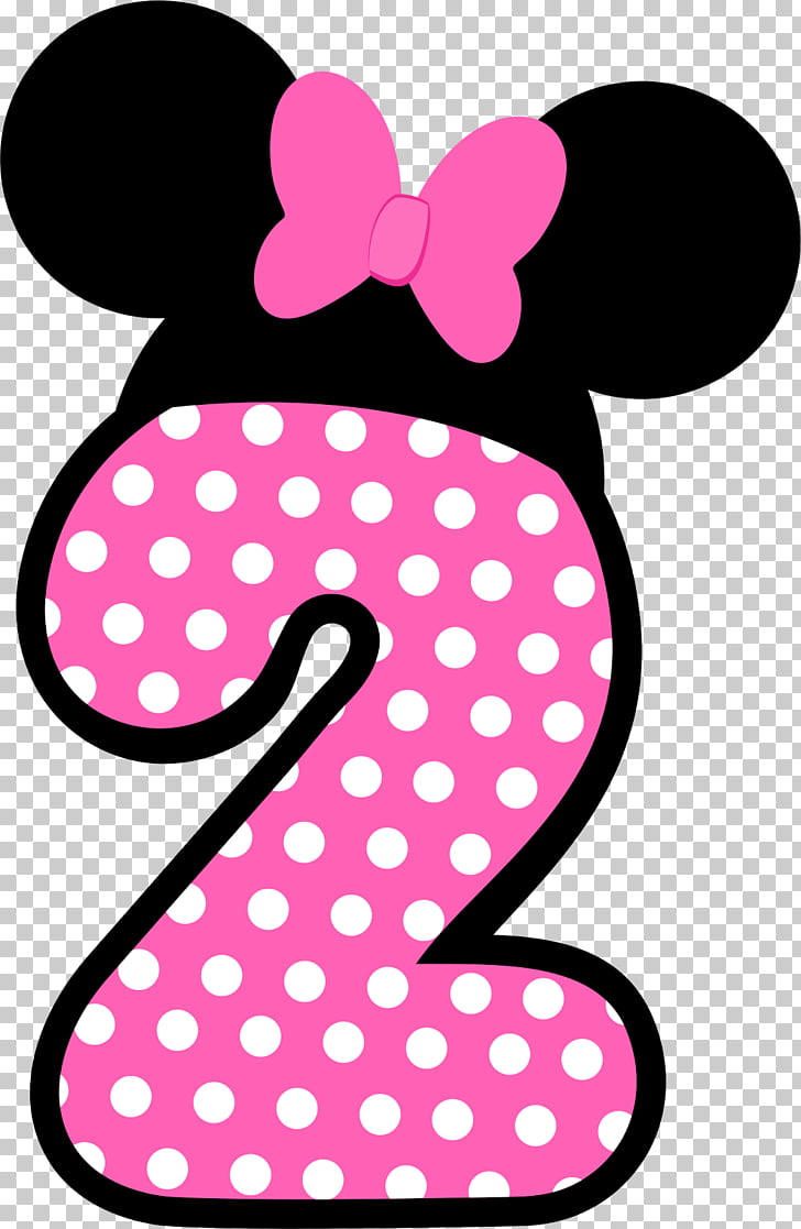 Minnie Mouse Mickey Mouse Chip \'n\' Dale Birthday, rosa.
