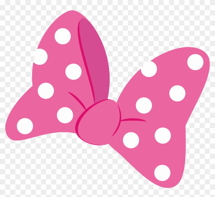 Png Library Clip Pink Bows And Mouse Clipart.