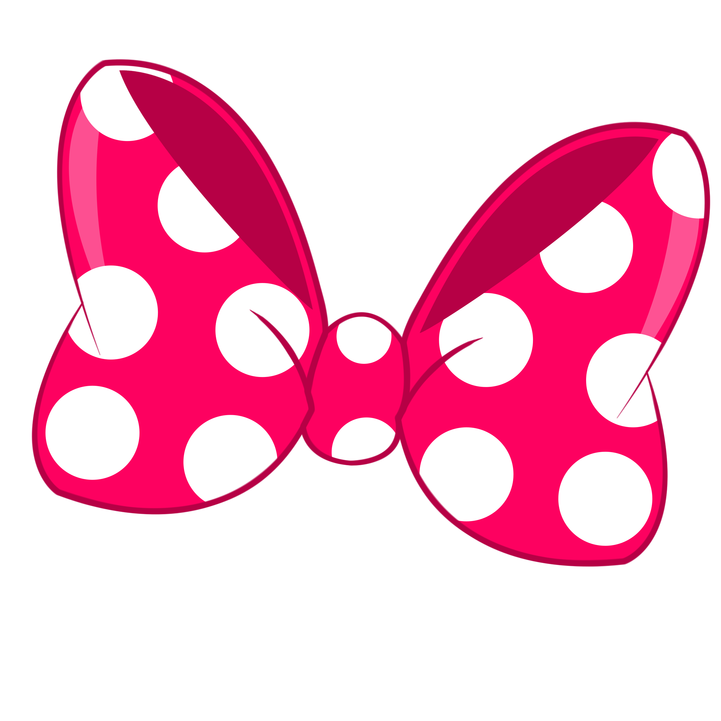 Minnie Bow Png.