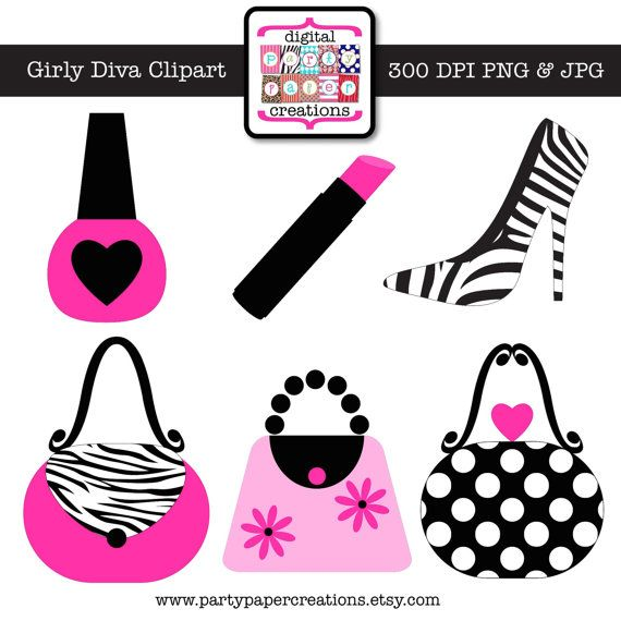 47 best images about Girly Girl Clipart on Pinterest.