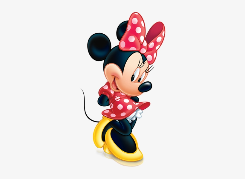 Minnie In Red.