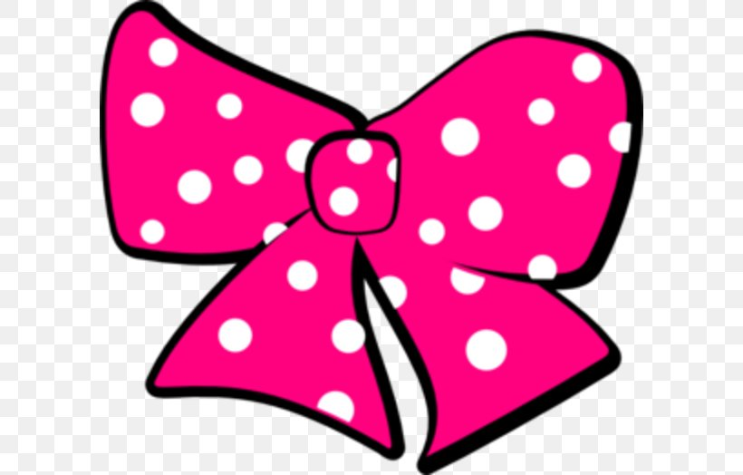 Minnie Mouse Mickey Mouse Ribbon Clip Art, PNG, 600x524px.