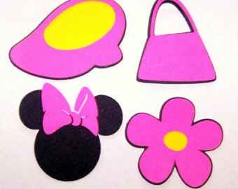Minnie Shoes Clip Art.