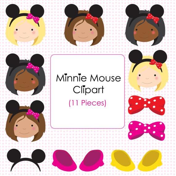 Minnie Mouse Clip Art.