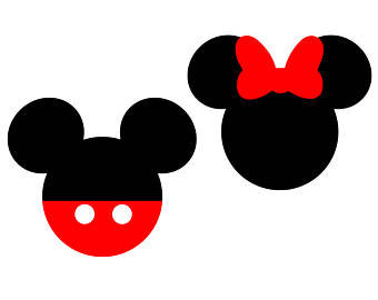 Minnie Mouse Silhouette Clipart.