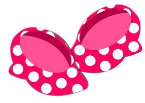 Minnie Mouse Shoes Clip Art.
