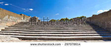 Minoan city clipart #11