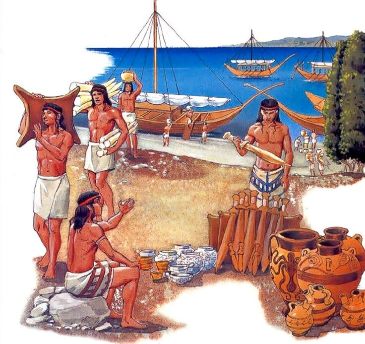 Minoan city clipart #13
