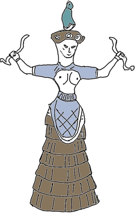 Minoan city clipart #9