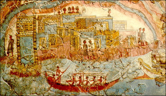 MINOANS (3000 B.C. to 1400 B.C.): THEIR ART, CULTURE AND RELIGION.