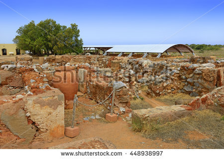 Minoan city clipart #18