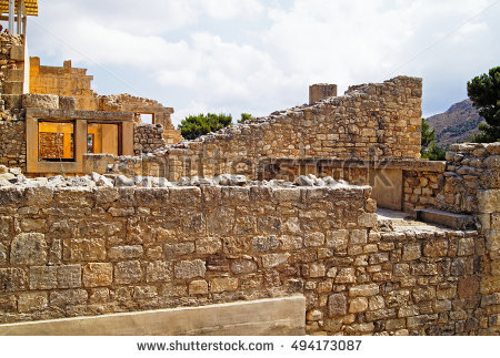 Minoan city clipart #14