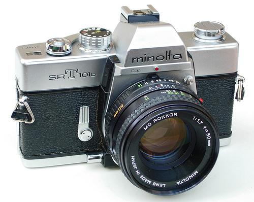 Minolta 35Mm Camera.