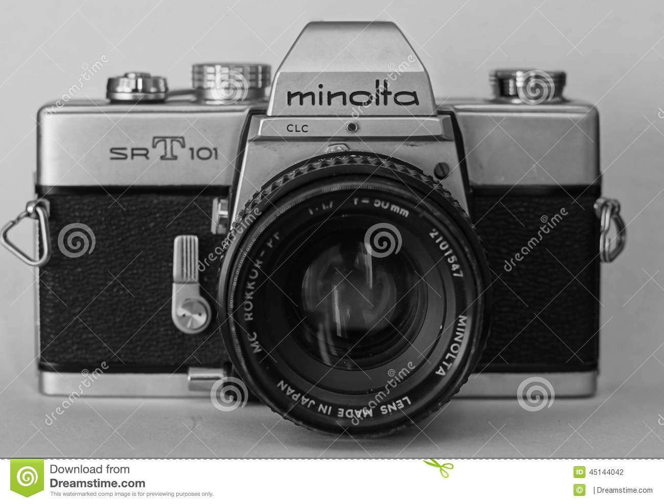 Old School Camera Stock Photos.