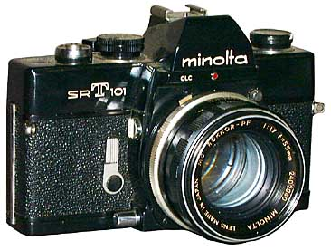 Minolta Camera Outline Clipart.