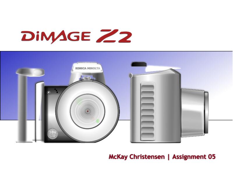 Free Clipart: Konica Minolta Camera.