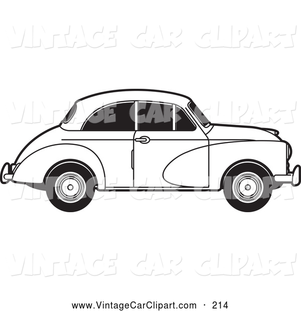 Minor buying a car clipart.