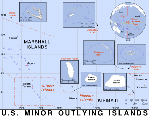US Minor Outlying Islands Detailed Clip Art Download.