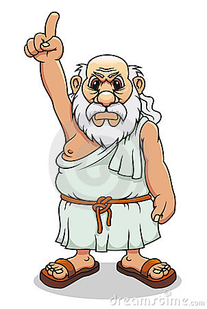 Ancient Greek Man 1 Royalty Free Stock Images.