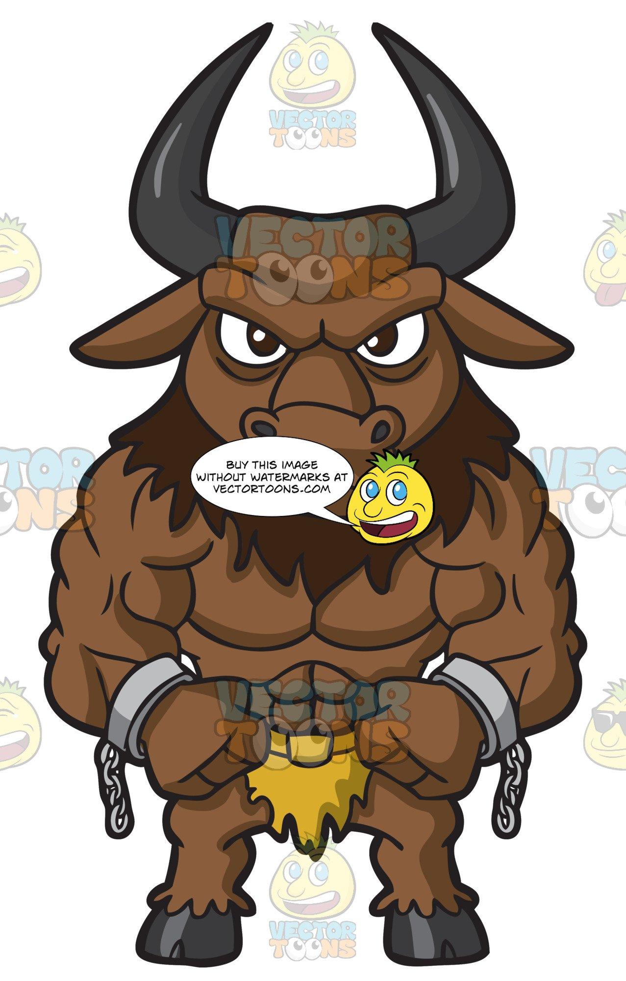A Muscular Minotaur.