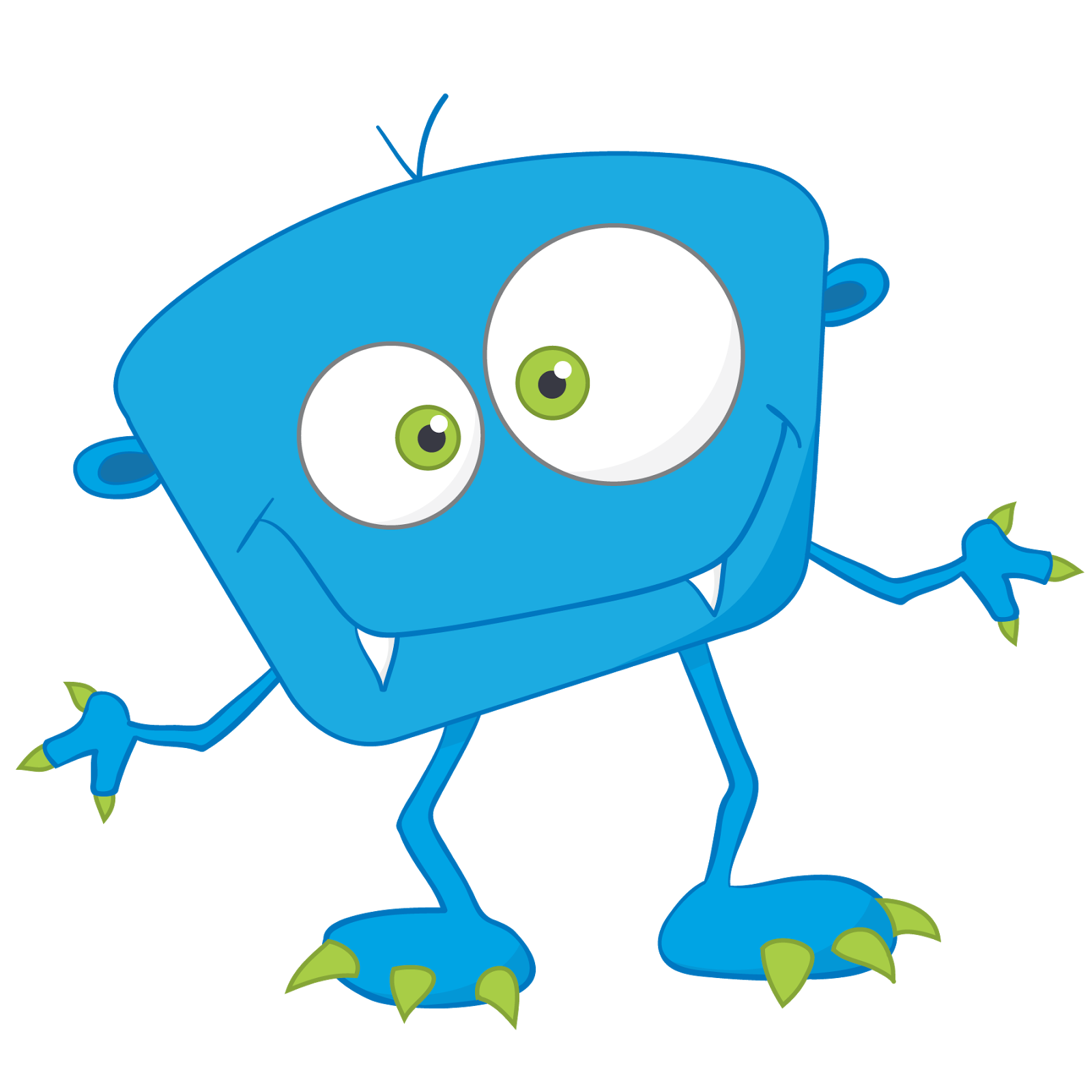 Little Monster Clipart.