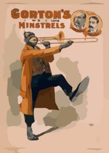 Minstrels clipart #17