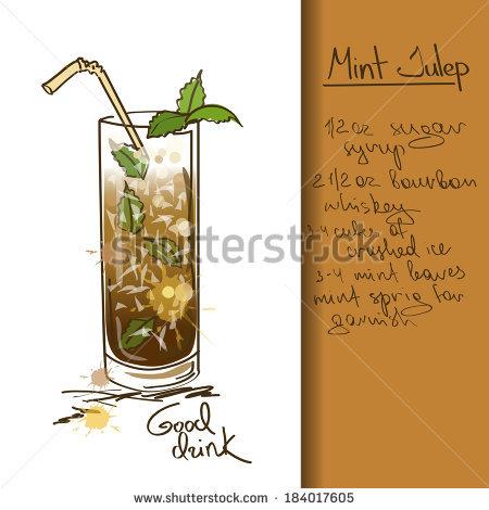 Mint Julep Stock Vectors & Vector Clip Art.