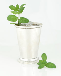 The Perfect Mint Juliep  Southern Style.