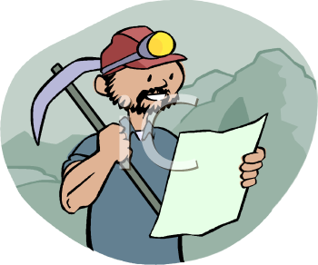 Miner Clipart.