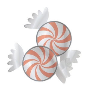 Wrapped Mint Clipart.
