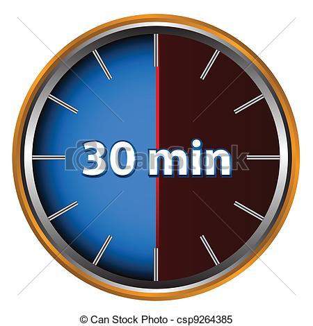 Minutes clipart #7