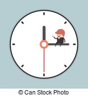 Minute hand clipart #3