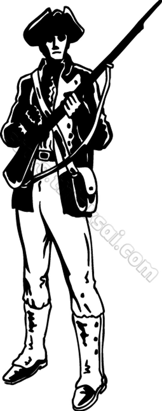 Minuteman clipart #7