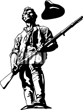 Minuteman clipart #17