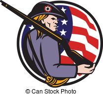 Minuteman Clipart and Stock Illustrations. 88 Minuteman vector EPS.