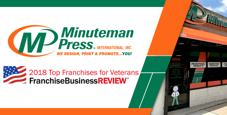 Minuteman Press International Named a Top Franchise for.