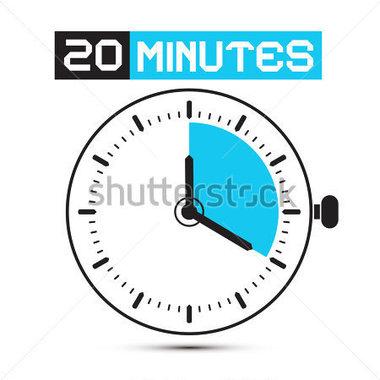 Minutes Clip Art.