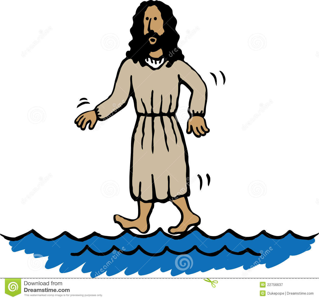 The miracles of jesus clipart.
