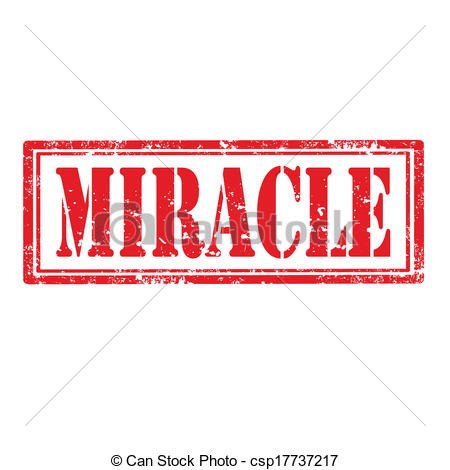 Vector Clip Art of Miracle.