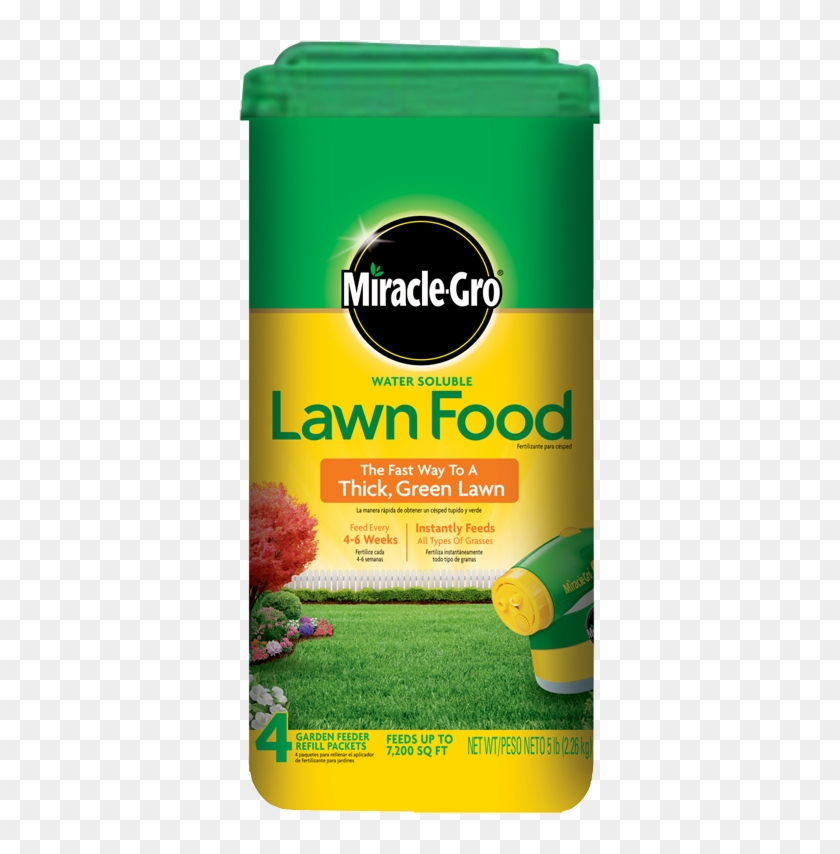 Miracle Gro Lawn Food Water Soluble.