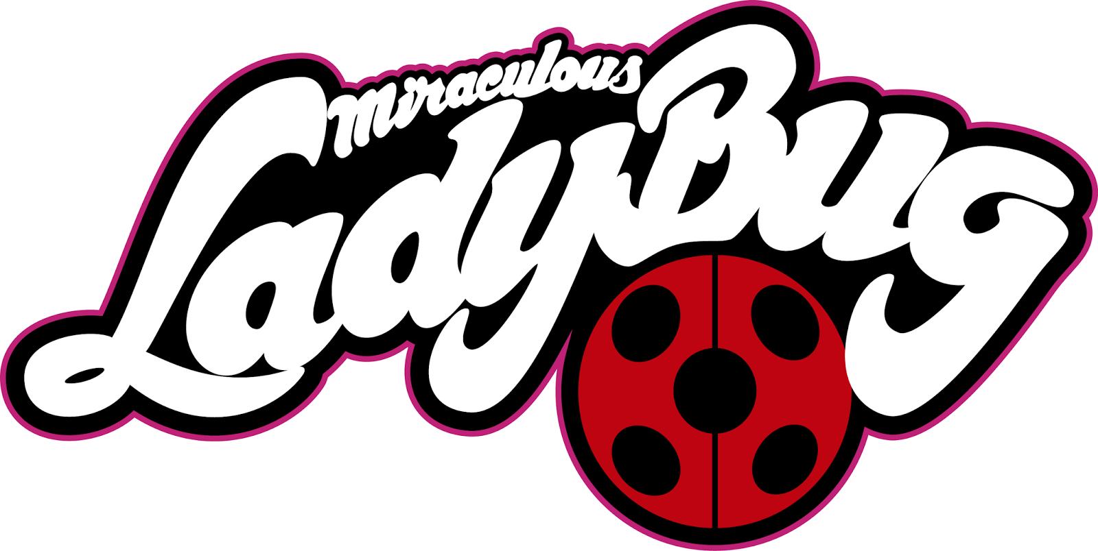 Image result for miraculous ladybug logo.