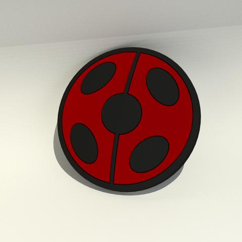 Miraculous Ladybug logo.