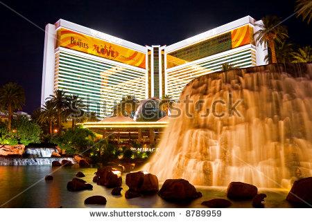 Mirage Casino Hotel Stock Photos, Royalty.